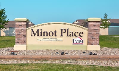 Community Signage, Minot Place Apartments, 2
