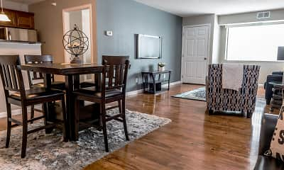Dining Room, Emberwood Apartments, 0