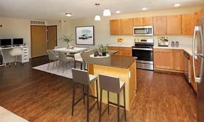 Kitchen, The Legacy Apartments, 0