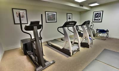 Fitness Weight Room, Yorkshire Village, 2