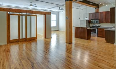 Living Room, Lee Lofts, 0