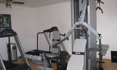 Fitness Weight Room, Admiral's Way, 2
