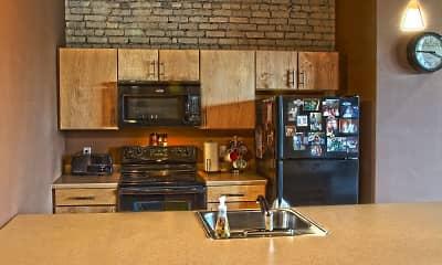 Kitchen, Lofts on Roberts-Downtown Fargo, 0