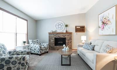 Living Room, Creekstone Falls, 1