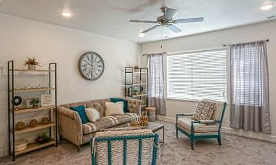 Living Room, Porter Ranch, 1