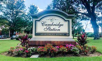 Community Signage, Cambridge Station Apartments, 0