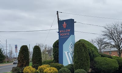 Community Signage, Willow Pointe Apartments, 0