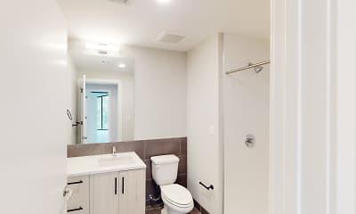 Bathroom, Arc on Armour, 2