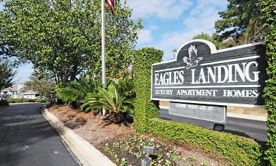 Community Signage, Eagles Landing Tallahassee, 2
