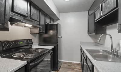Kitchen, Casa Luna, 1