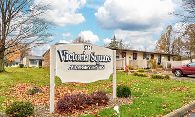 Community Signage, Victoria Square Apartments, 0