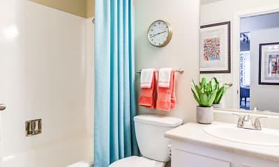 Bathroom, Edgewood Park Apartments, 2