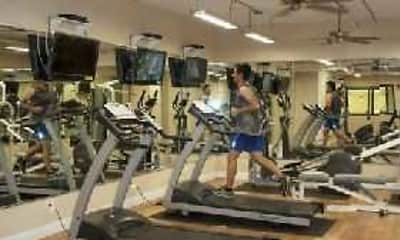 Fitness Weight Room, Lincoln Park Plaza, 0