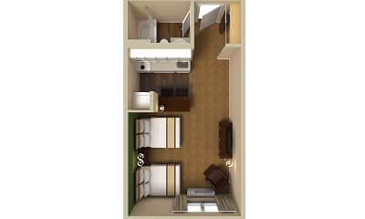 Furnished Studio - Rochester - Greece, 2