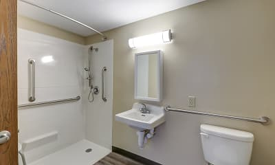 Bathroom, Bridge Street Commons, 2