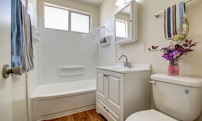 Bathroom, Westminster Manor Apartments, 2