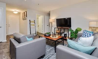 Living Room, Social 1600 Student Living, 1