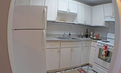 Kitchen, Valley York Apartments, 1