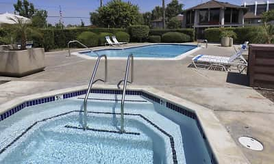 Pool, The Village Apartments, 1