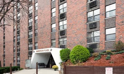 Building, Amberson Plaza Apartments, 0