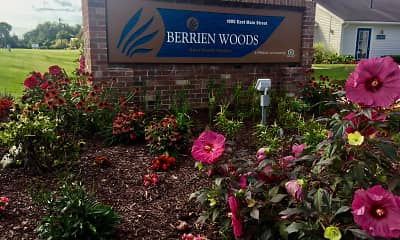 Community Signage, Berrien Woods, 0