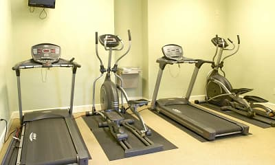 Fitness Weight Room, Harbour Club, 2