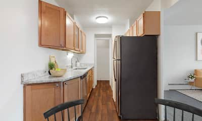 Kitchen, Park Towers, 0