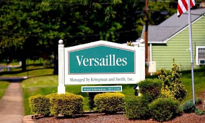 Community Signage, Versailles Apartments, 0