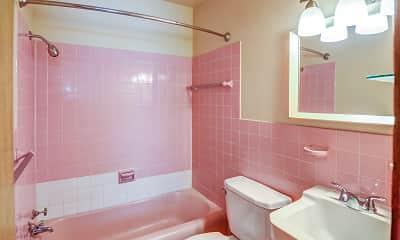 Bathroom, Skillman Flats, 2