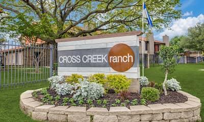 Community Signage, Cross Creek Ranch, 2