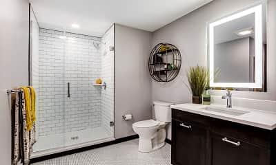 Bathroom, Gables Seaport, 2