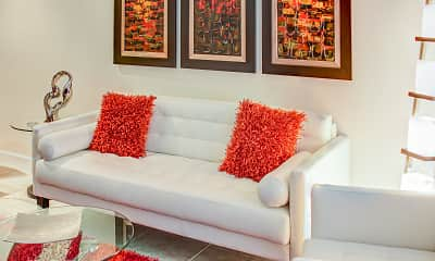 Living Room, Cordoba Luxury Rentals, 1