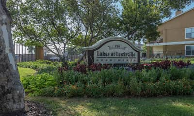Community Signage, Lakes at Lewisville, 2