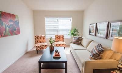 Living Room, Silver Lake Hills, 1