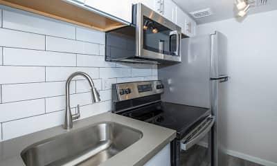 Kitchen, Tides on University, 1