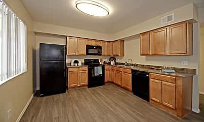 Kitchen, Vista Village, 1