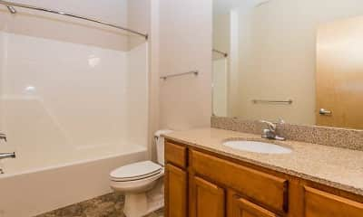 Bathroom, Lake Park, 2
