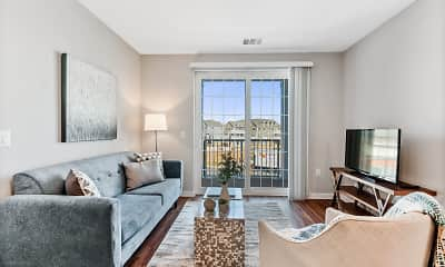 Living Room, Weatherstone Flats, 2