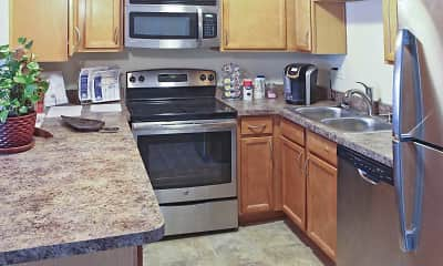 Kitchen, Markwell Village Apartments, 2
