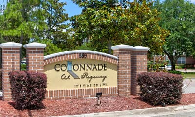 Community Signage, Colonnade at Regency, 2