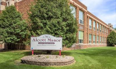 Community Signage, Alcott Manor, 0