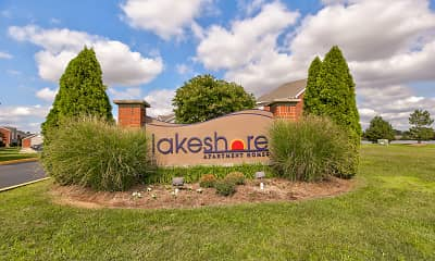 Community Signage, Lakeshore Apartments, 2