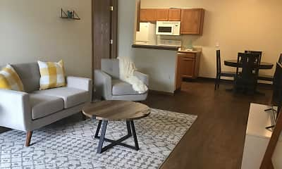 Living Room, Turnberry Village Apartments, 0
