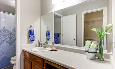 Bathroom, Georgetown Park Apartments, 2