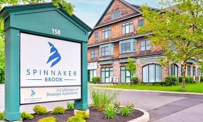 Community Signage, Spinnaker Brook, 2