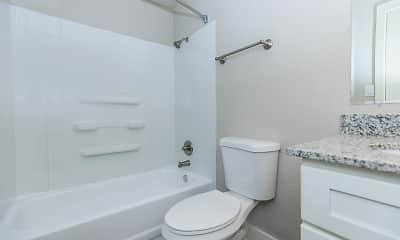 Bathroom, Stone Canyon, 2