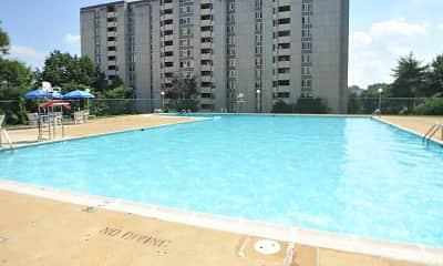 Pool, Takoma Towers, 1