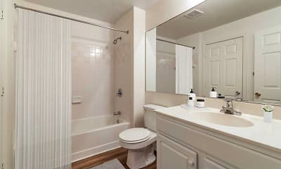 Bathroom, Avalon Oaks and Oaks West, 1