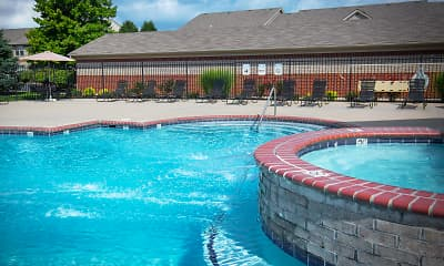 Pool, Stone Ridge Apartments & Townhomes at the Ridge, 1