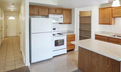 Kitchen, Garden View Townhomes, 0